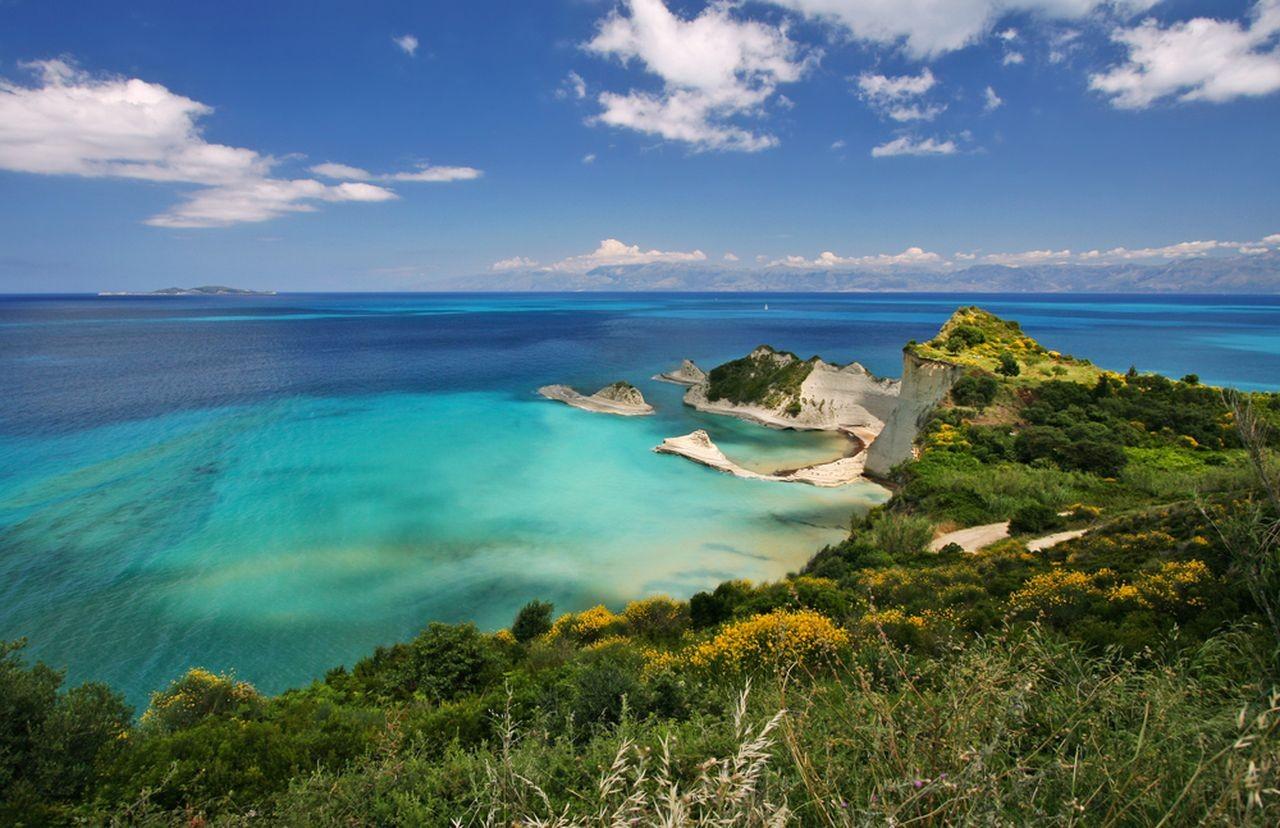Drastis Beach, Corfu, Ionian Islands, Greece