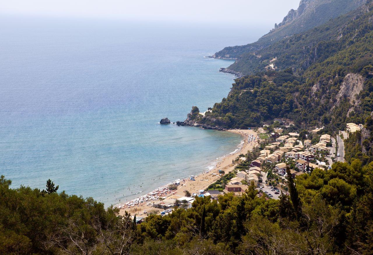 Glyfada Beach, Corfu, Ionian Islands, Greece