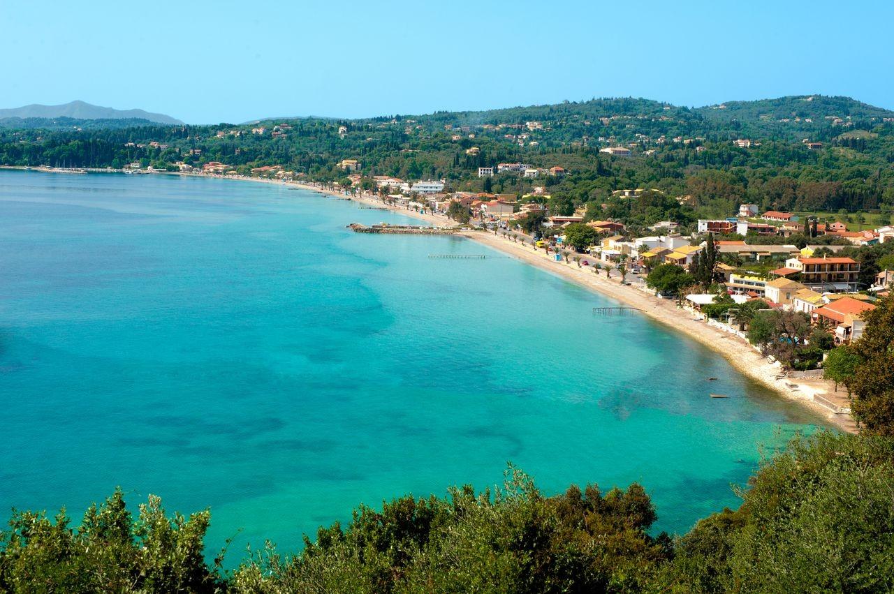 Ipsos Beach, Corfu, Ionian Islands, Greece