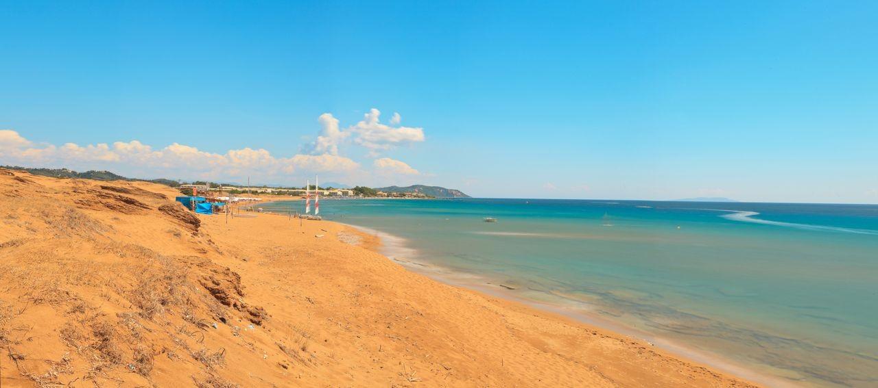 Issos Beach, Corfu, Ionian Islands, Greece