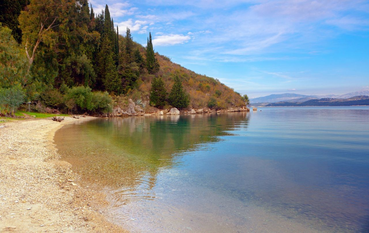 Kalami Beach, Corfu, Ionian Islands, Greece