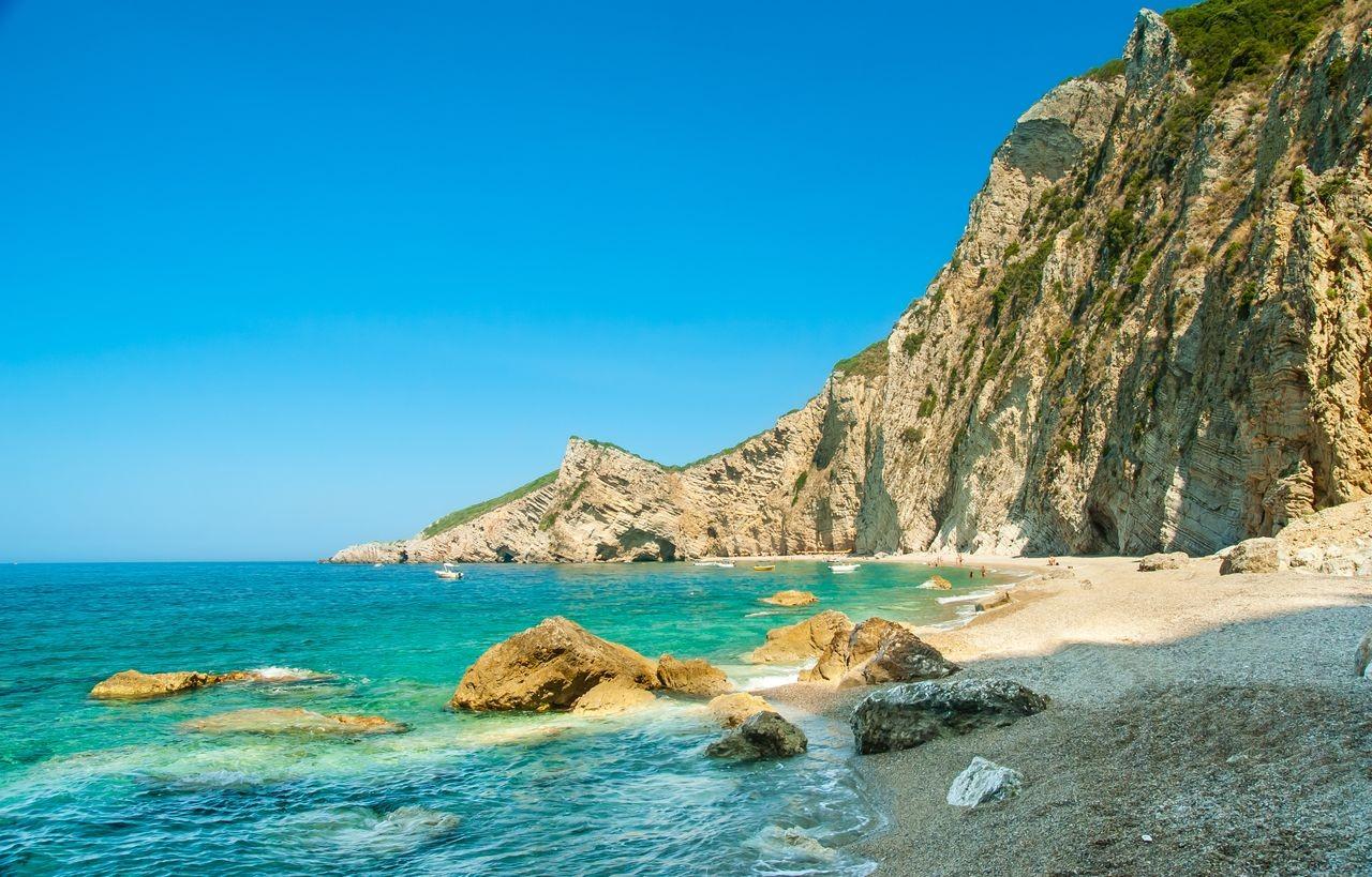 Liapadon Beach, Corfu, Ionian Islands, Greece
