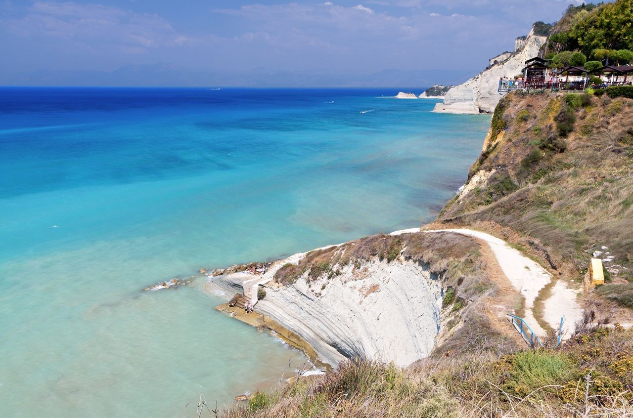 Logga Beach, Corfu, Ionian Islands, Greece