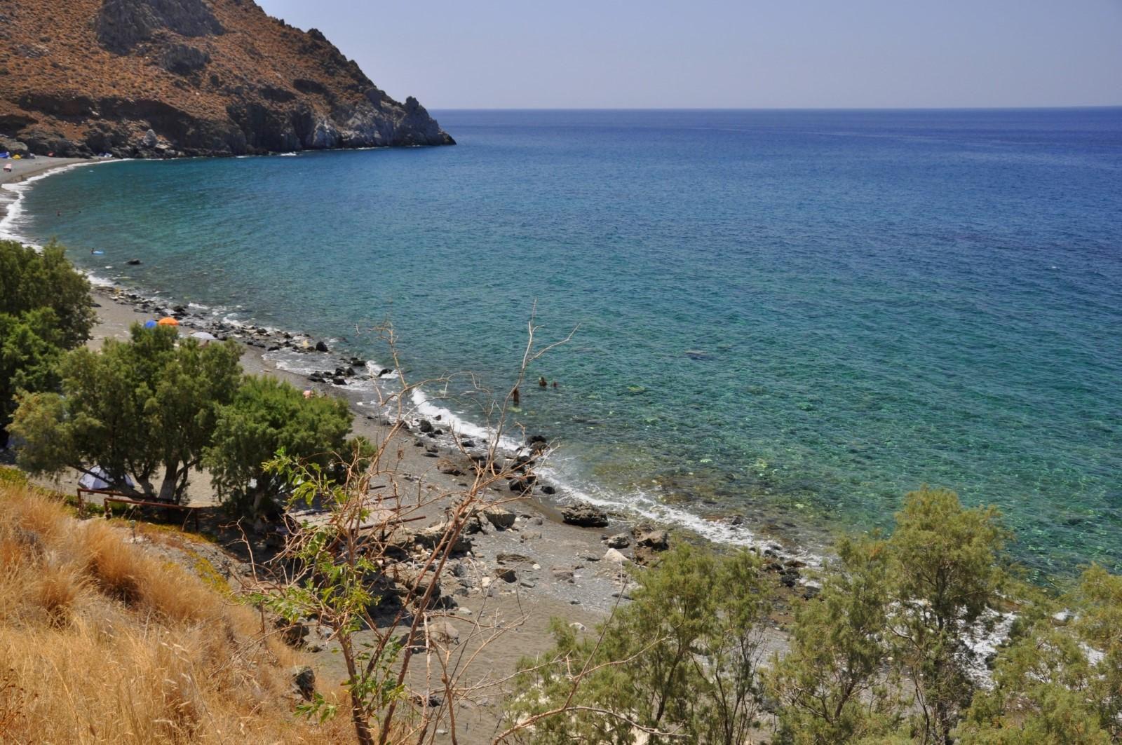 Δυσκός, Παραλία στο Ηράκλειο Κρήτης