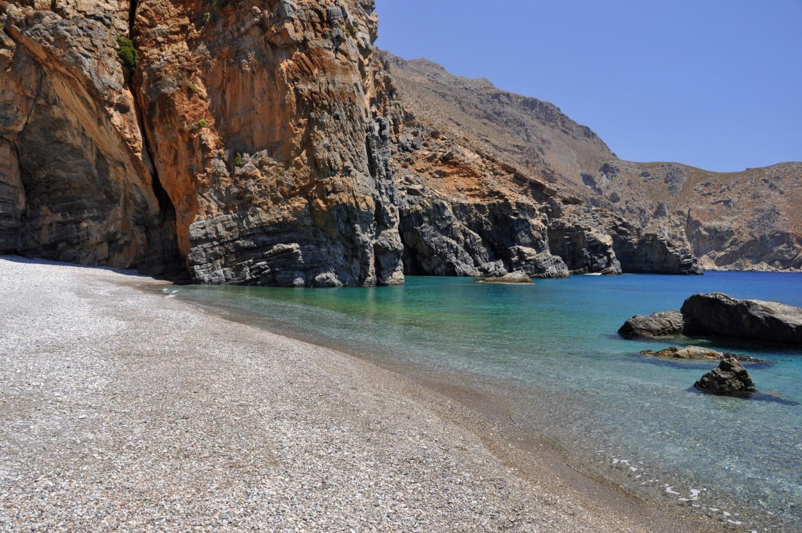 Καμινάκι, Παραλία στο Ηράκλειο Κρήτης