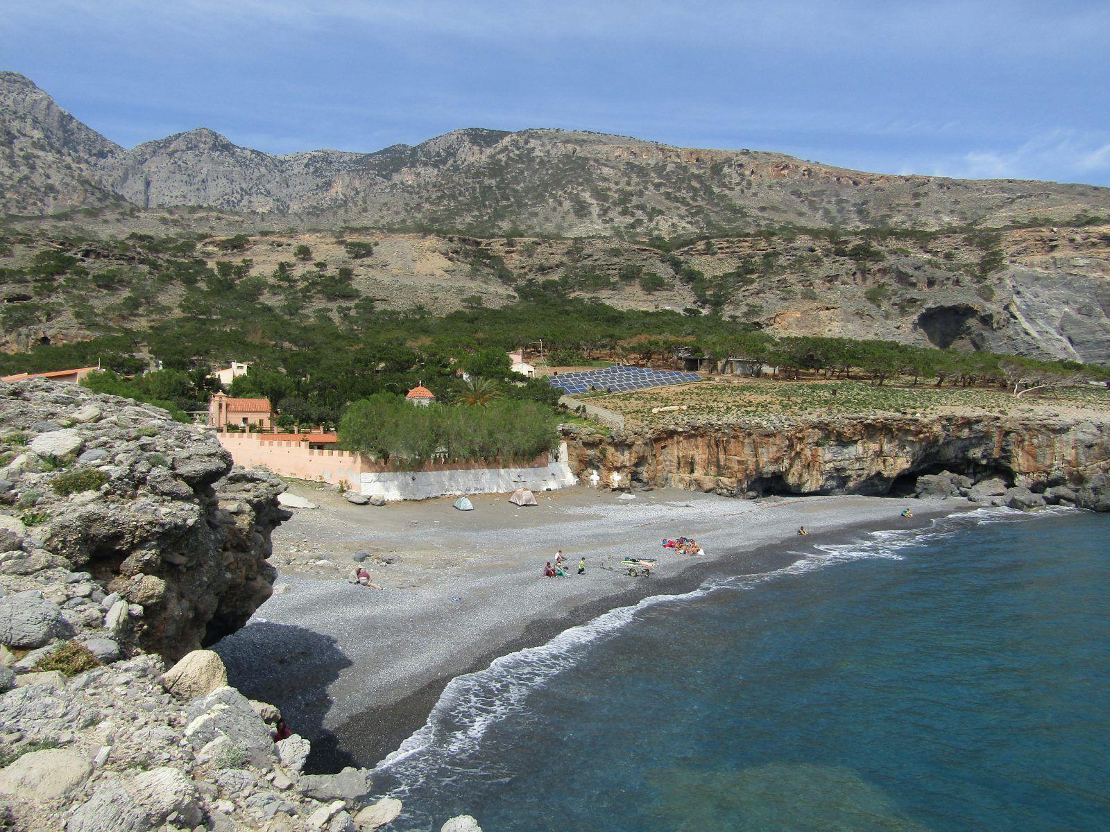 Κουδουμά, Παραλία στο Ηράκλειο Κρήτης