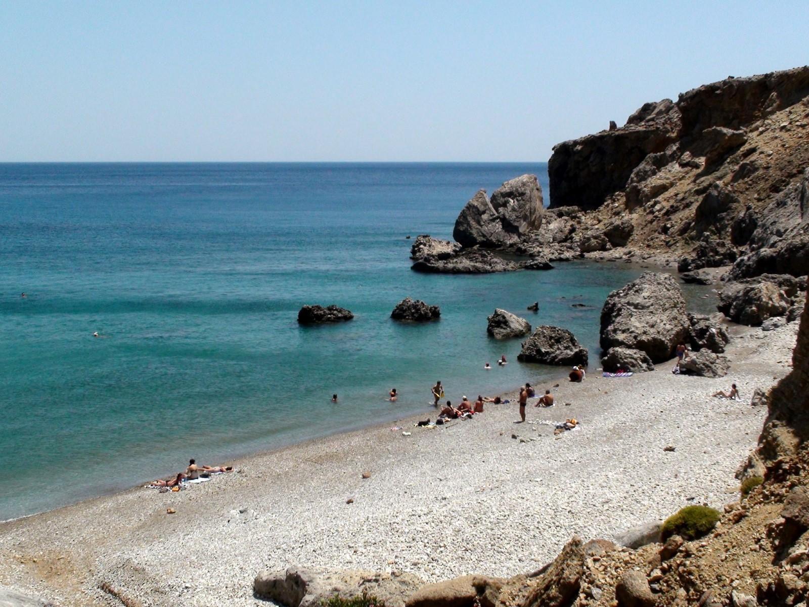 Μαριδάκι, Παραλία στο Ηράκλειο Κρήτης